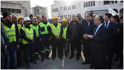 1الوفد الحكومي في حلب