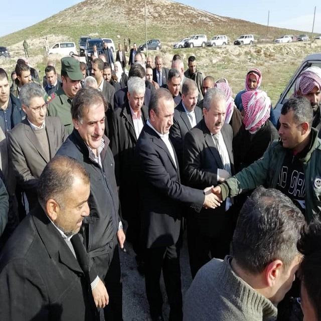 جولة حلب مع عرنوس