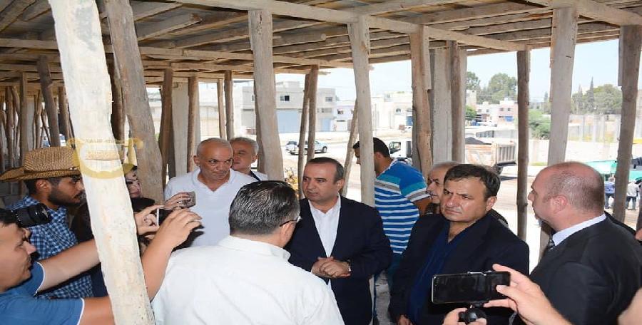 جولة الوزير في اللاذقية
